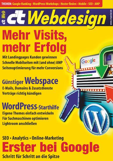 c't Webdesign (2017) - Blick ins Buch