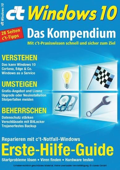 c't Windows 10 (2016) - Blick ins Buch