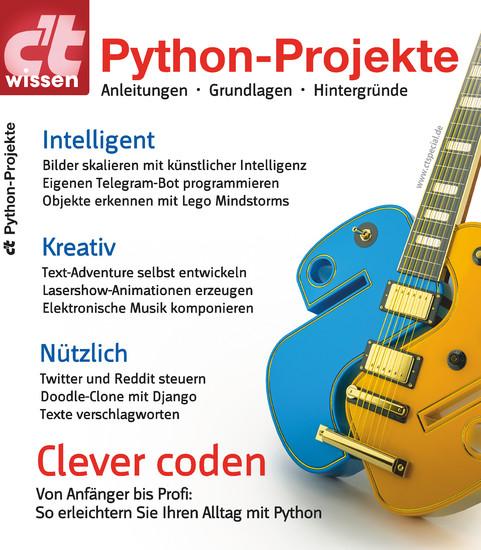 c't wissen Python-Projekte (2018) - Blick ins Buch