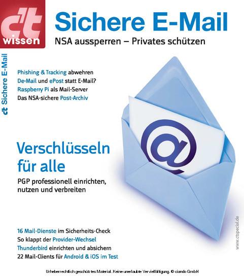 c't wissen Sichere E-Mail (2014) - Blick ins Buch