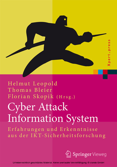 Cyber Attack Information System - Blick ins Buch
