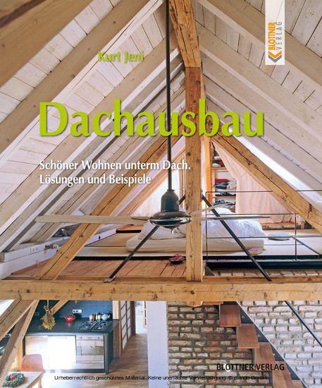 Dachausbau - Blick ins Buch