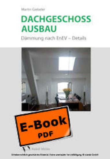 Dachgeschossausbau - Blick ins Buch