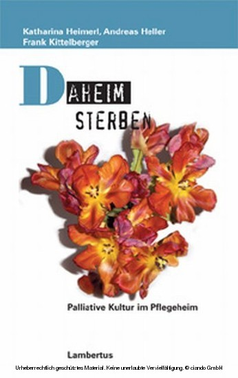 Daheim sterben - Blick ins Buch