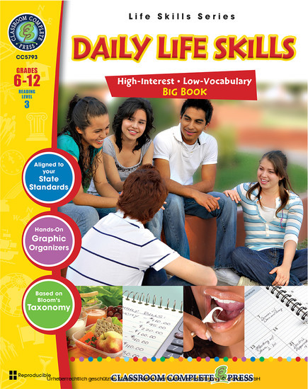 Daily Life Skills Big Book - Blick ins Buch