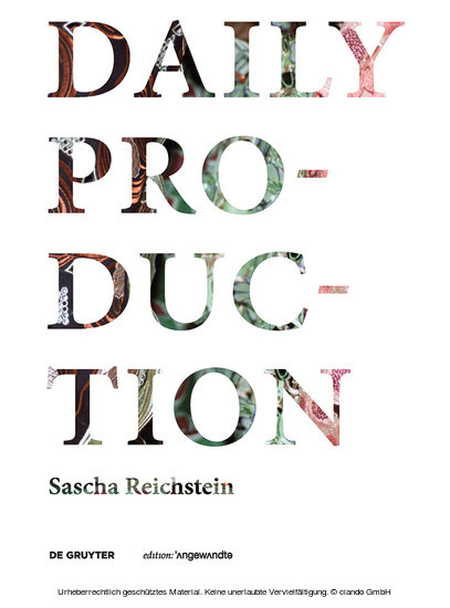 Daily Production - Blick ins Buch