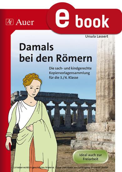 Damals bei den Römern - Blick ins Buch