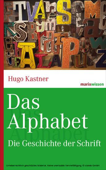 Das Alphabet - Blick ins Buch