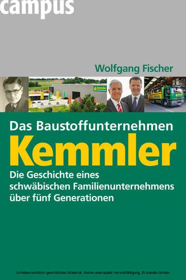 Das Baustoffunternehmen Kemmler - Blick ins Buch