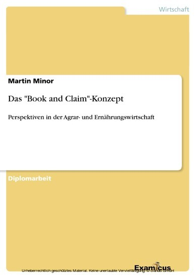 Das 'Book and Claim'-Konzept - Blick ins Buch