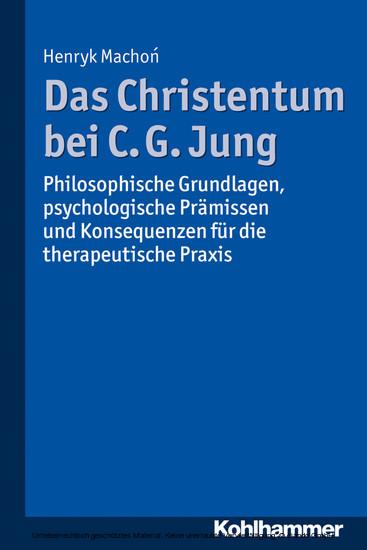 Das Christentum bei C. G. Jung - Blick ins Buch