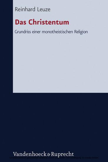 Das Christentum - Blick ins Buch