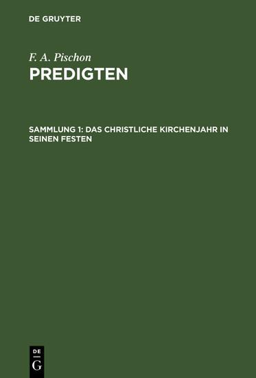 Das christliche Kirchenjahr in seinen Festen - Blick ins Buch