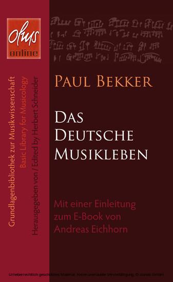 Das deutsche Musikleben - Blick ins Buch