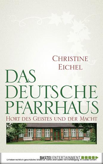 Das deutsche Pfarrhaus - Blick ins Buch