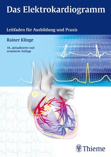 Das Elektrokardiogramm - Blick ins Buch