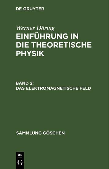 Das elektromagnetische Feld - Blick ins Buch