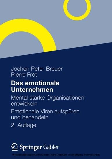 Das emotionale Unternehmen - Blick ins Buch