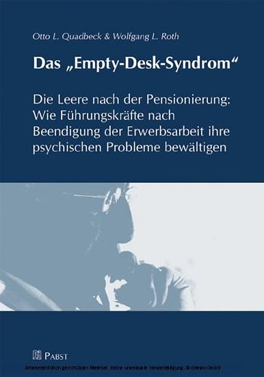 Das 'Empty-Desk-Syndrom' - Blick ins Buch