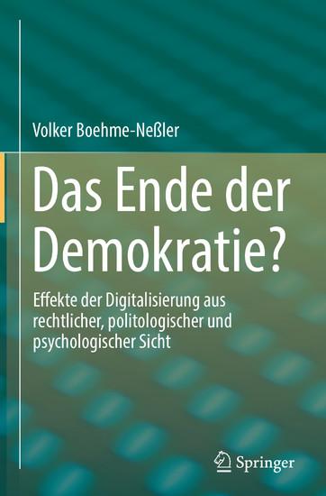 Das Ende der Demokratie? - Blick ins Buch