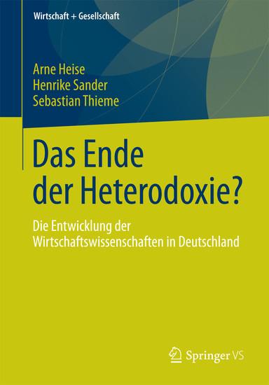 Das Ende der Heterodoxie? - Blick ins Buch