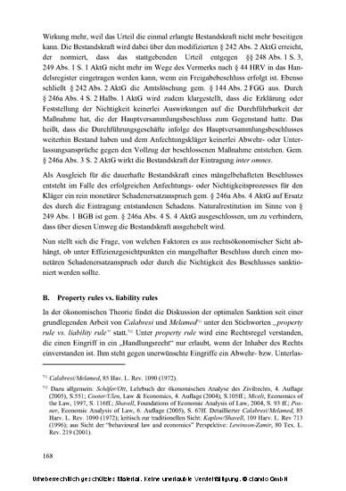 Das Freigabeverfahren gemäß § 246a Aktiengesetz - Blick ins Buch