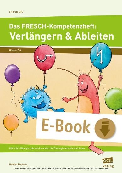 Das FRESCH-Kompetenzheft: Verlängern & Ableiten - Blick ins Buch