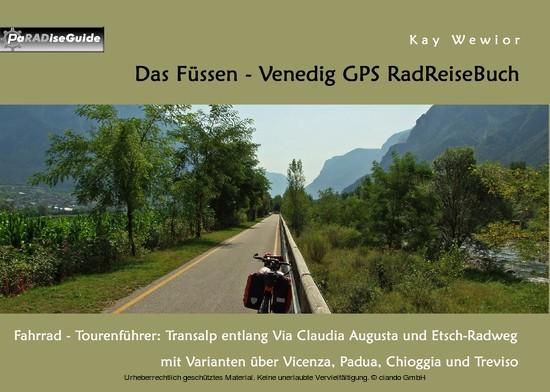 Das Füssen - Venedig GPS RadReiseBuch - Blick ins Buch
