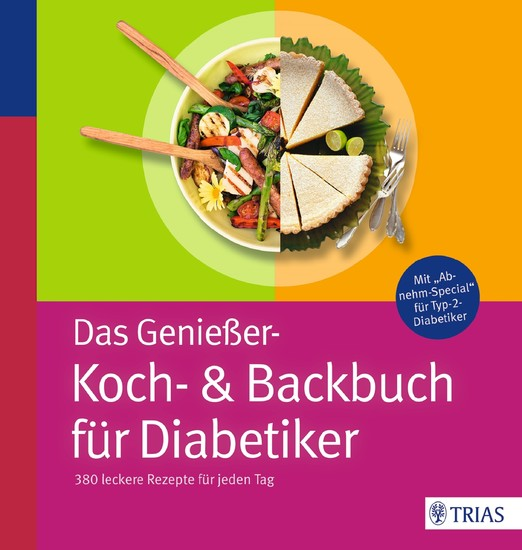Das Genießer-Koch-& Backbuch für Diabetiker - Blick ins Buch
