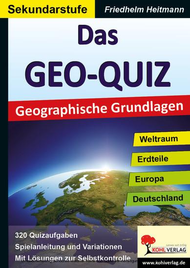 Das GEO-QUIZ - Blick ins Buch
