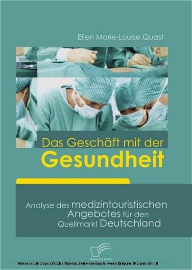 Das Geschäft mit der Gesundheit - Blick ins Buch