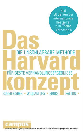 Das Harvard-Konzept - Blick ins Buch