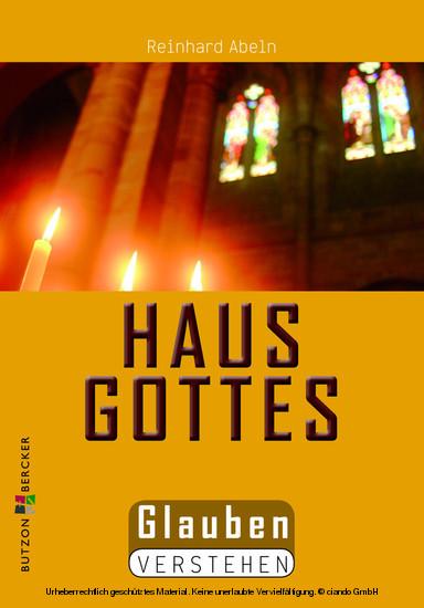 Das Haus Gottes - Blick ins Buch