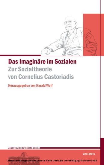 Das Imaginäre im Sozialen - Blick ins Buch