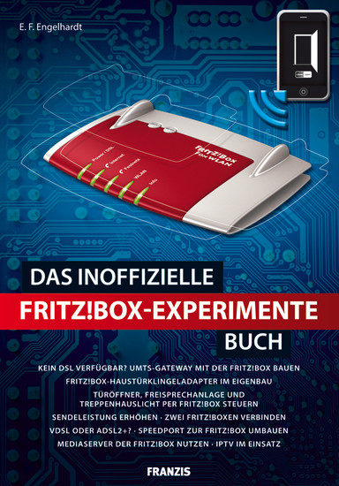 Das inoffizielle Fritz!Box-Experimente-Buch - Blick ins Buch