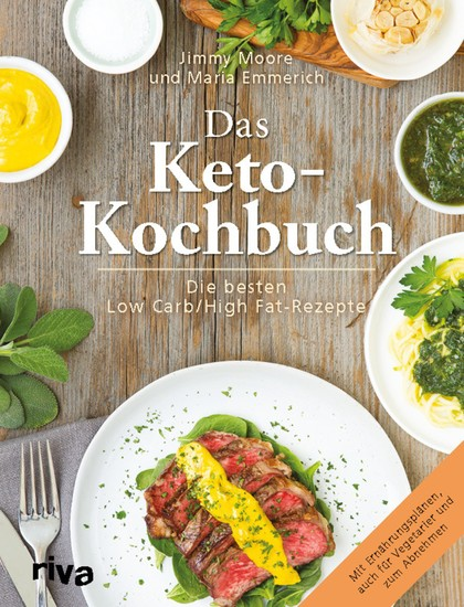 Das Keto-Kochbuch - Blick ins Buch