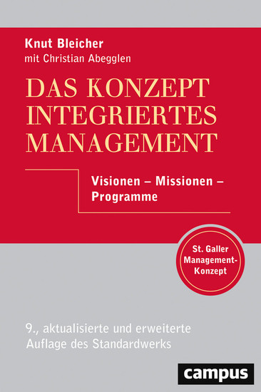 Das Konzept Integriertes Management - Blick ins Buch