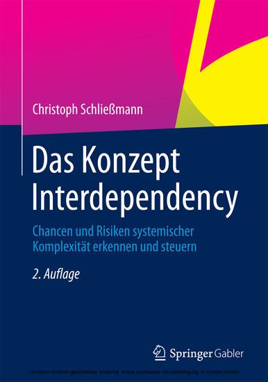 Das Konzept Interdependency - Blick ins Buch
