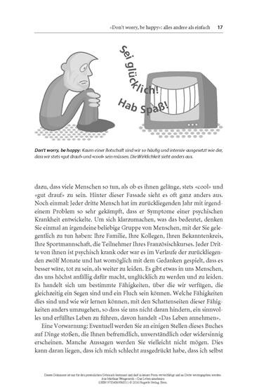 Das Leben annehmen - Blick ins Buch