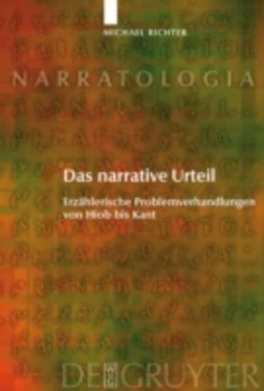 Das narrative Urteil - Blick ins Buch