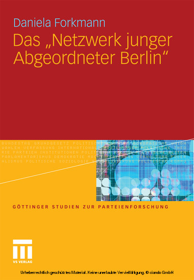 Das 'Netzwerk junger Abgeordneter Berlin' - Blick ins Buch