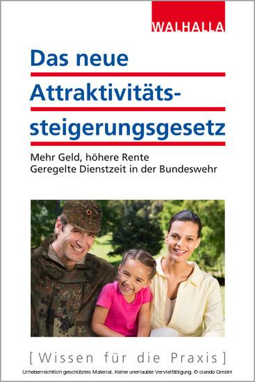 Das neue Attraktivitätssteigerungsgesetz - Blick ins Buch