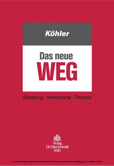 Das neue WEG - Blick ins Buch