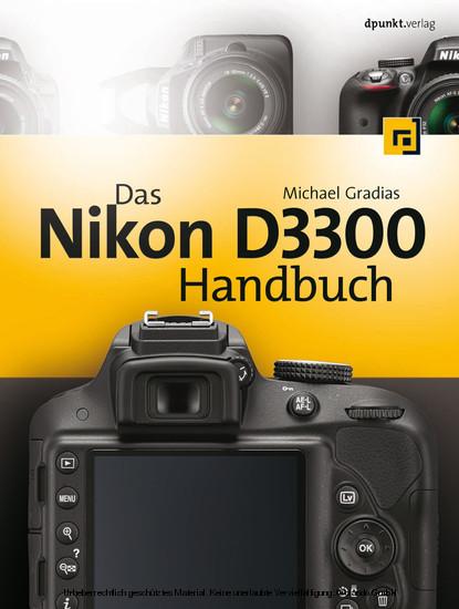 Das Nikon D3300 Handbuch - Blick ins Buch