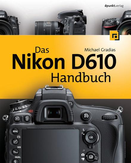 Das Nikon D610 Handbuch - Blick ins Buch