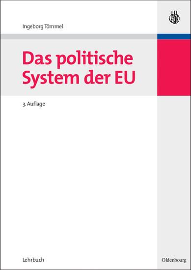 Das politische System der EU - Blick ins Buch
