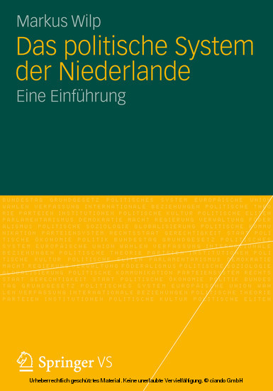 Das politische System der Niederlande - Blick ins Buch