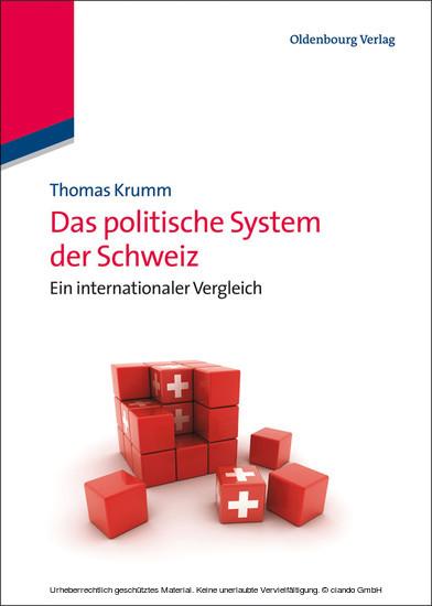 Das politische System der Schweiz - Blick ins Buch