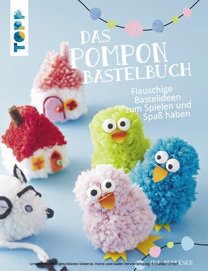 Das Pompon-Bastelbuch - Blick ins Buch