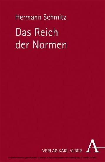 Das Reich der Normen - Blick ins Buch